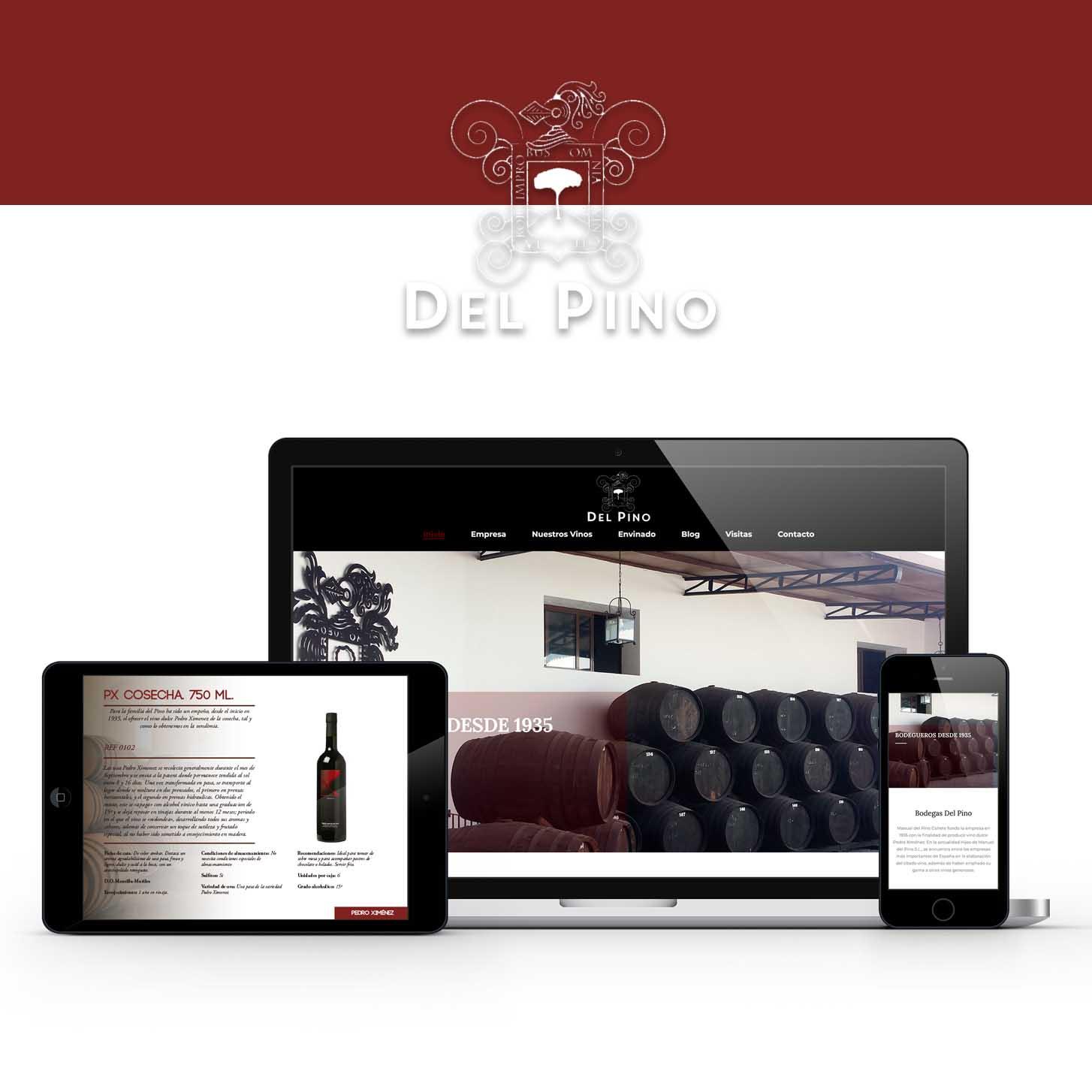 diseño web bodegas