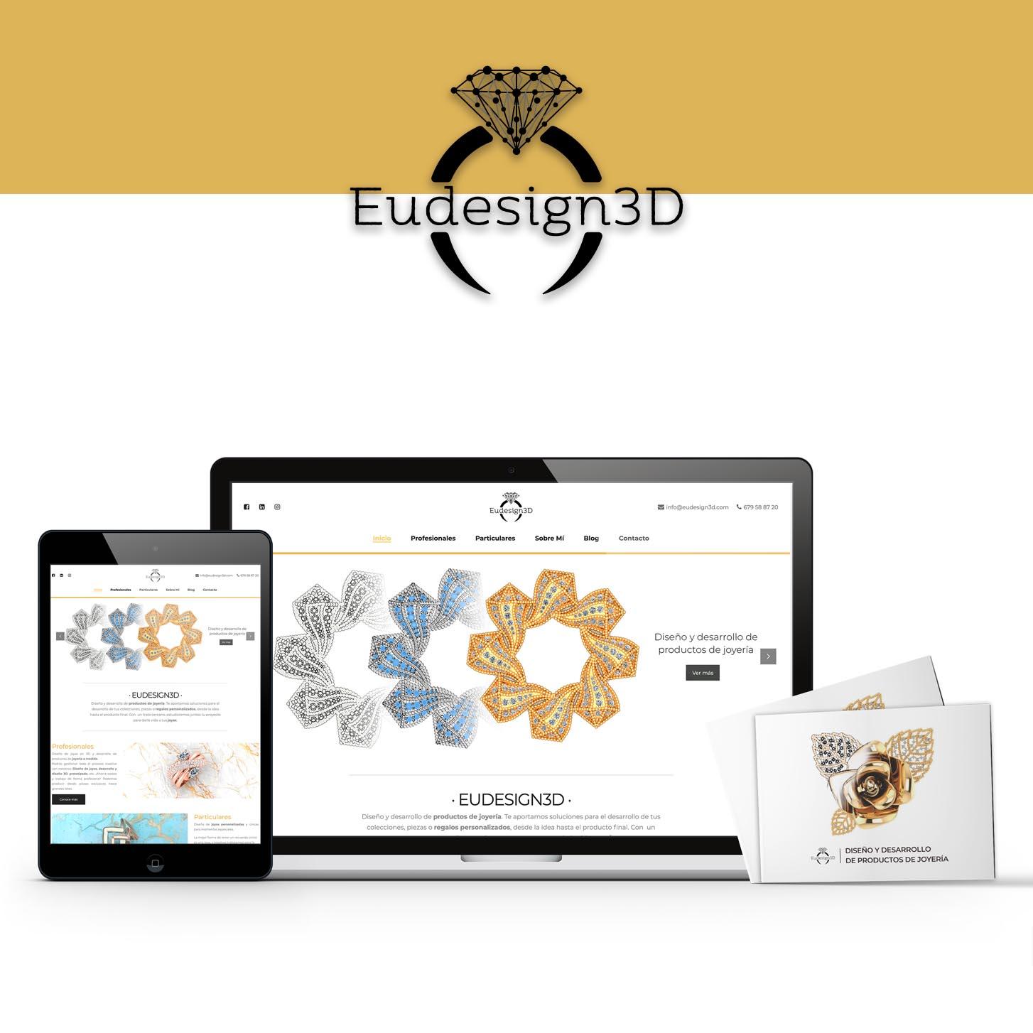 diseño web de joyería